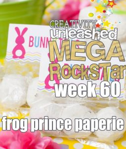 Check out the week 60 MEGA ROCKSTAR from last week's Creativity Unleashed Link Party!