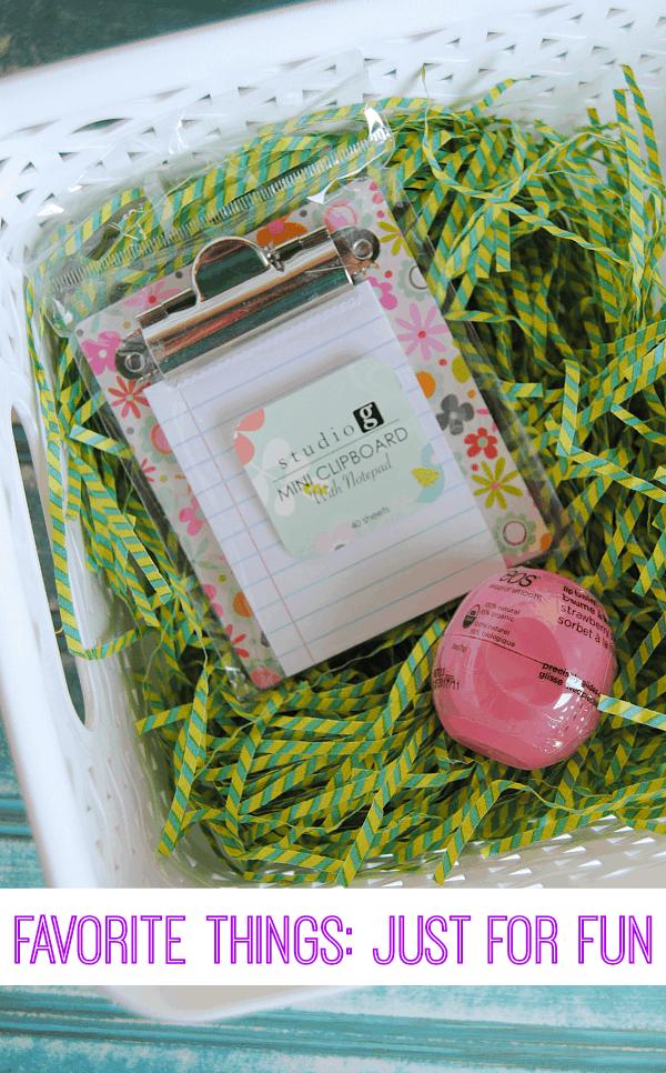 Favorite Things Easter Basket Giveaway at Shaken Together!