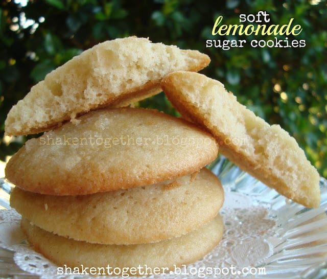 Soft Lemonade Sugar Cookies
