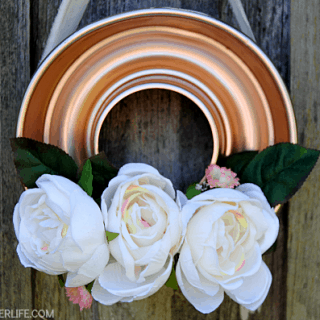 Spring Jello Mold Wreath & Habitat for Humanity ReStore Blog Hop!