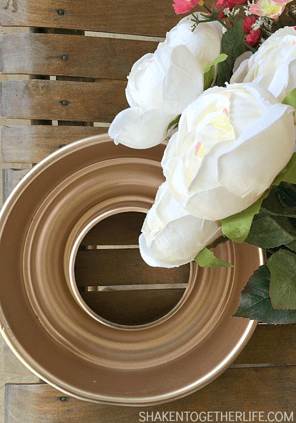 How to make a Spring Jello Mold Wreath!