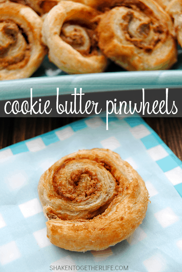 Cookie Butter Pinwheels