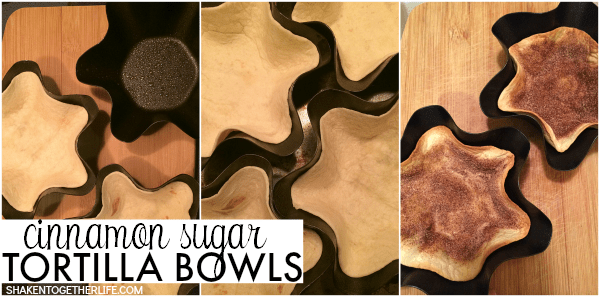 How to Make Cinnamon Sugar Tortilla Bowls for Dulce de Leche Fried Ice Cream Sundaes