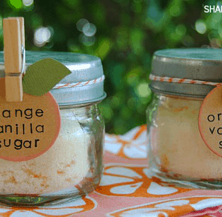 Homemade Orange Vanilla Sugar