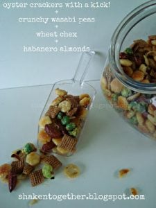 Manly Munch Mix - a spicy snack mix perfect for Fathers Day!