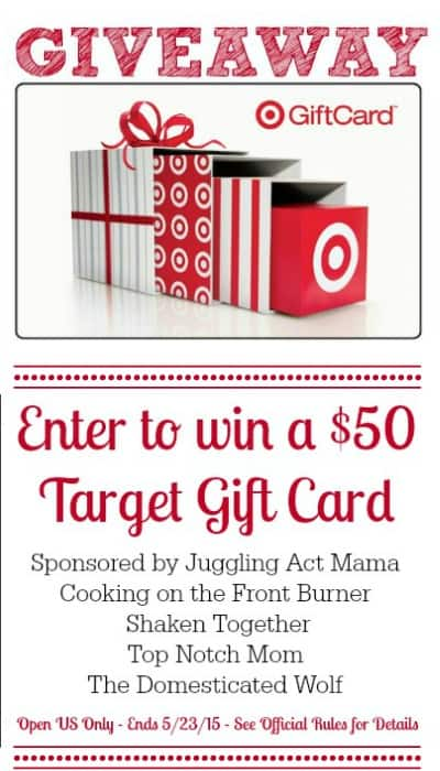 Enter to Win a $50 Target Gift Card at Shaken Together!