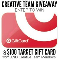 Enter to win a $100 Target Gift Card from the members of the A Night Owl Creative Team!!