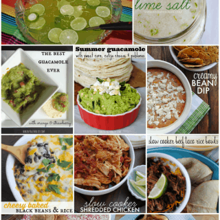 10 Cinco de Mayo recipes - from drinks to appetizers, side dishes, main dishes and desserts!