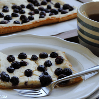 Blueberry Lemon Cheesecake Tart