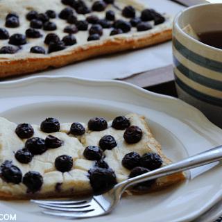 Blueberry Lemon Cheesecake Tart