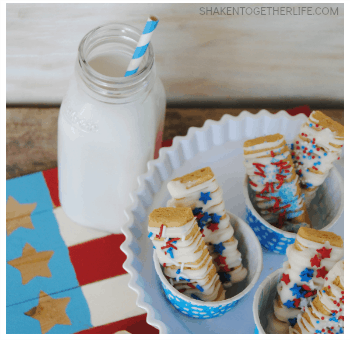 Shortbread Sparklers - Chocolate Covered Shortbread Cookies
