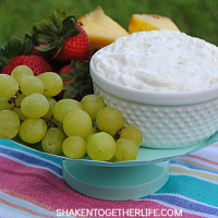 With only 3 ingredients and the tropical flavors of pineapple and coconut, this Piña Colada Fruit Dip is an easy, no-bake treat perfect for entertaining!