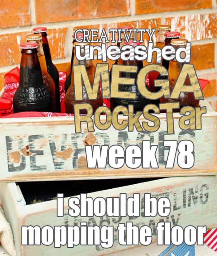 Congrats to the MEGA ROCK STAR from the Creativity Unleashed Link Party