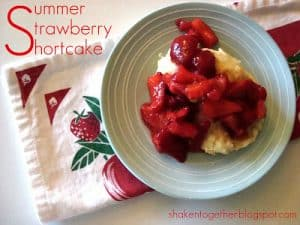 The BEST homemade strawberry shortcake biscuits!