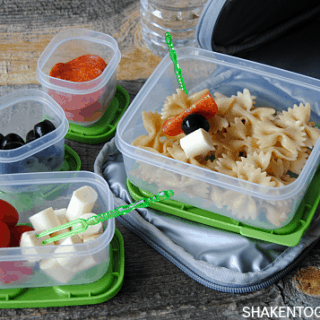 No more boring sandwiches! Instead, try this kid approved pasta salad lunch!