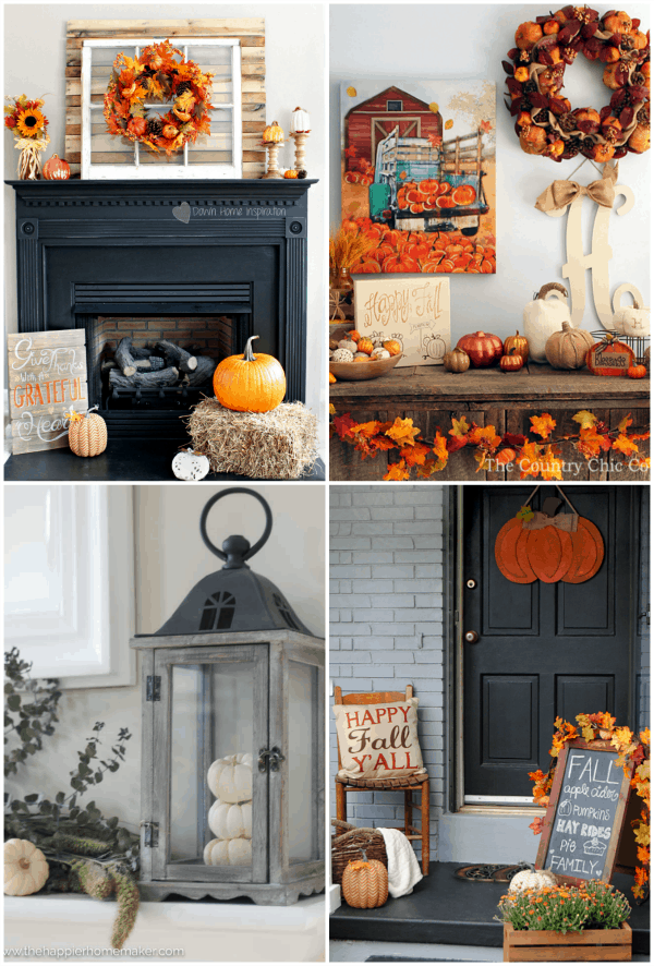 Check out how 4 bloggers gave their homes a huge hit of Fall thanks to Kirkland's!