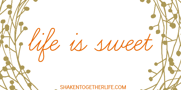 Life is Sweet - Fall printables in three colors from Shaken Together!