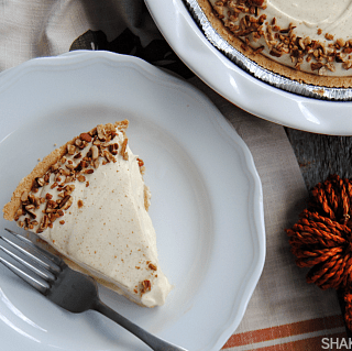 No Bake Pecan Pumpkin Pie