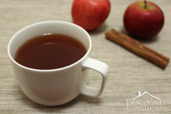 Caramel Apple Spiced Cider from Practically Functional