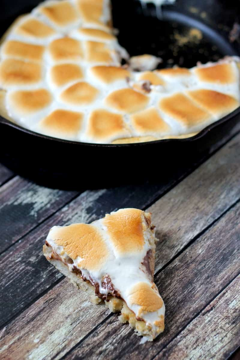 Smores Dessert Pizza from Just Us Four