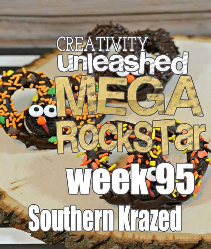 Congrats to the Mega Rock Star from last week's Creativity Unleashed Link Party!