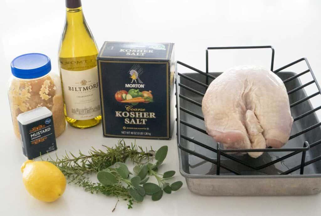roast turkey breast ingredients