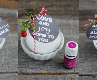 Bath Salts Ornaments + Printable Tags