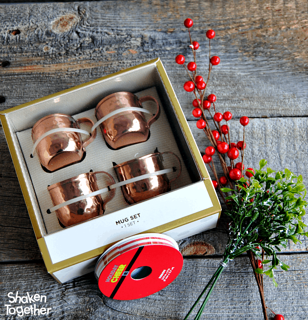 Make a set of adorable mini copper mug Cup of Cheer Ornaments in just minutes! They look gorgeous when the catch the light on the tree!