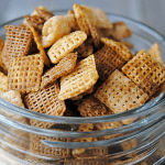 Nothing But Chex Mix - all Chex and nothing but the Chex - they have always been my favorite part of Chex Mix anyway!