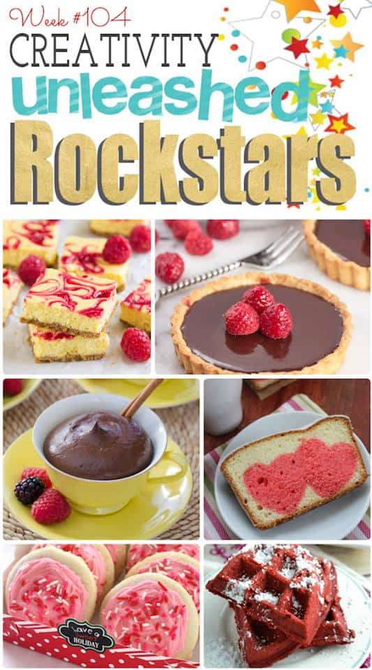 Congrats to the Rock Stars from the Creativity Unleashed Link Party!