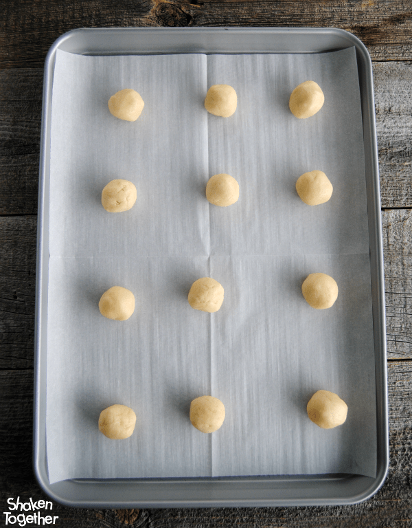 A package of sugar cookie mix makes these Jam Thumbprint Cookies super easy to make!