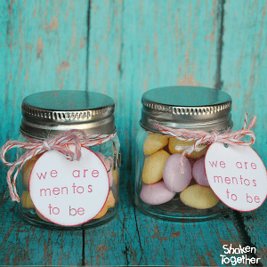 We are Mentos to Be Valentine Gifts at Shaken Together