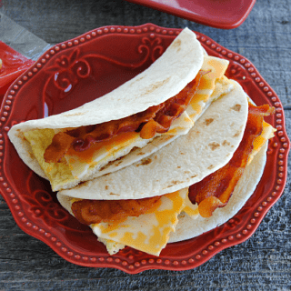 Quick & Easy Freezer Friendly Breakfast Soft Tacos