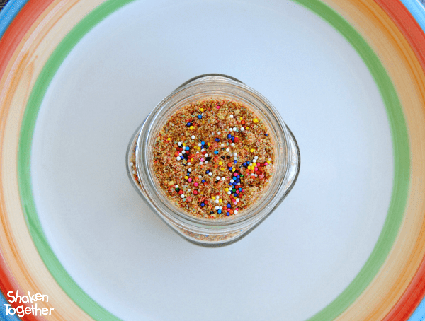 Rainbow food is SO fun for St. Patrick's Day! Make this sweet, colorful Rainbow Dust to sprinkle over ice cream, milk shakes or even toast!