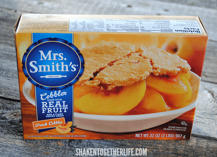 If you like our Key Lime Pie Dip, you will love this twist on this dessert dip! Use vanilla pudding and a Mrs. Smith's Peach Cobbler!