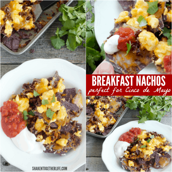 Our Breakfast Nachos are a delicious way to start your day on Cinco de Mayo!