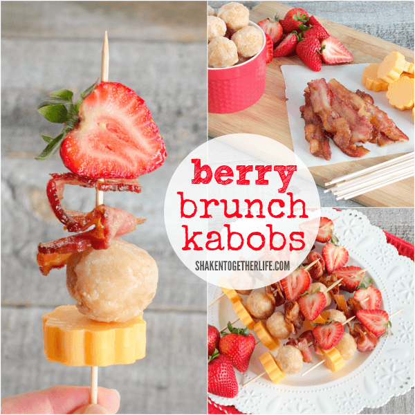 Berry Brunch Kabobs collage