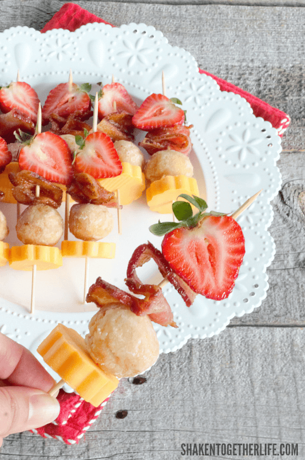 How fun are these Berry Brunch Kabobs?! Easy to assemble and delicious to eat!