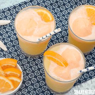 Tropical Orange Sherbet Punch