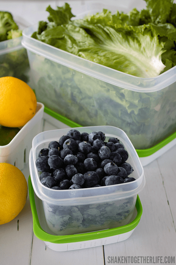 Keeping fresh produce stocked in the fridge makes eating healthier that much easier. Get more tips with our 10 Easy Ways to Eat Healthier this Summer!