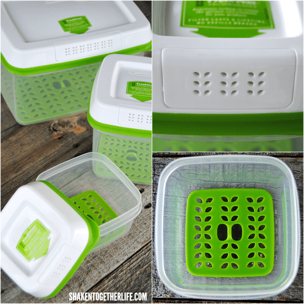 10 Ways to Eat Healthier This Summer - Rubbermaid Freshworks containers help keep fresh fruit and seasonal produce fresher longer!