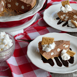 Frozen S'mores Pudding Pie