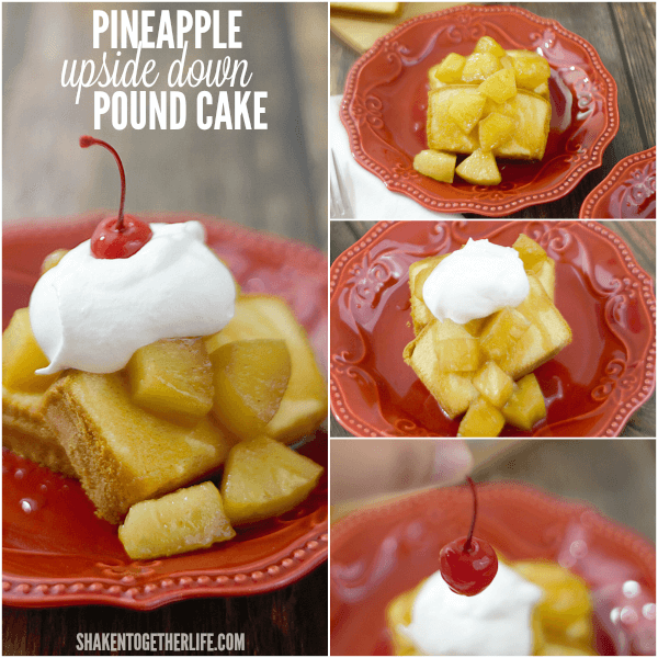 Need an easy no-bake Summer dessert? You will love this Pineapple Upside Down Pound Cake!