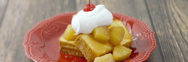 Pineapple Upside Down Pound Cake - you will love how easy and delicious this no bake dessert is!