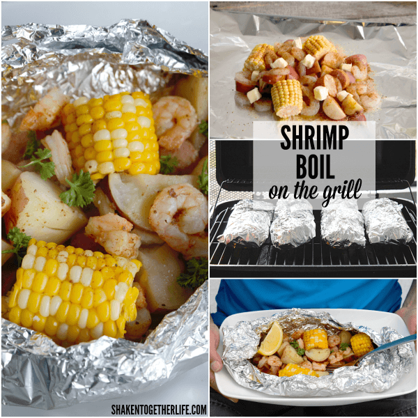 Shrimp Boil on the Grill - this may be our new favorite Summer meal!