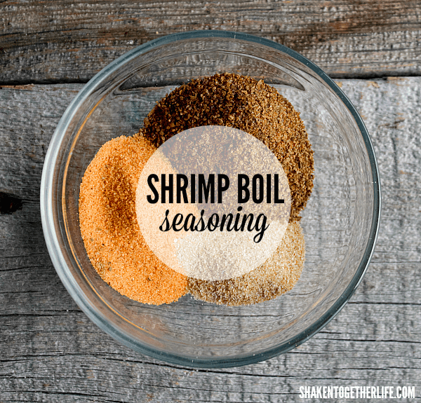 This is our go to Shrimp Boil Seasoning and this blend of spices is perfect for making our Shrimp Boil on the Grill!