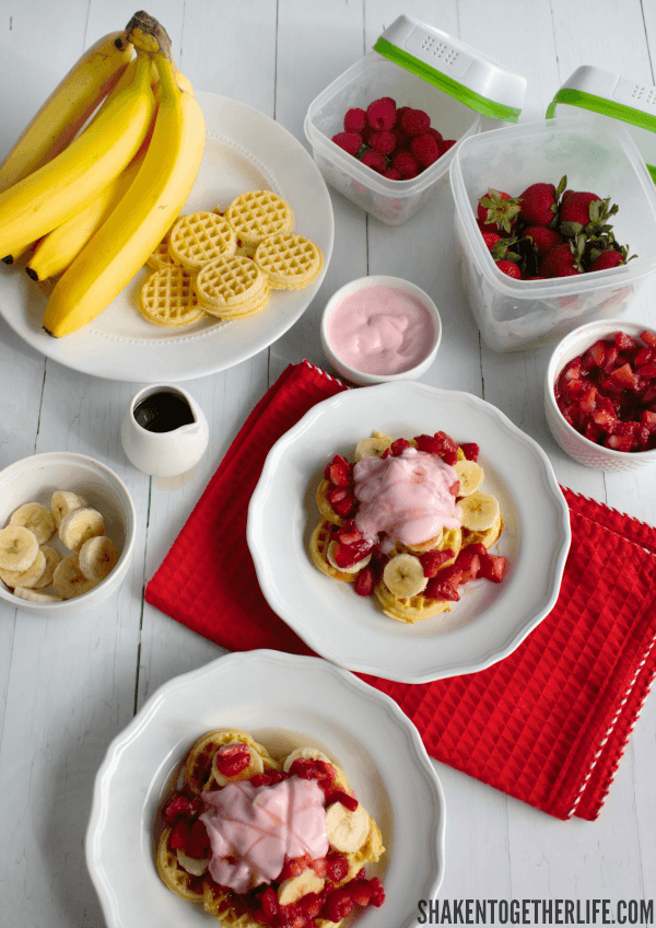 Banana Berry Breakfast Nachos are a whimsically delicious breakfast!