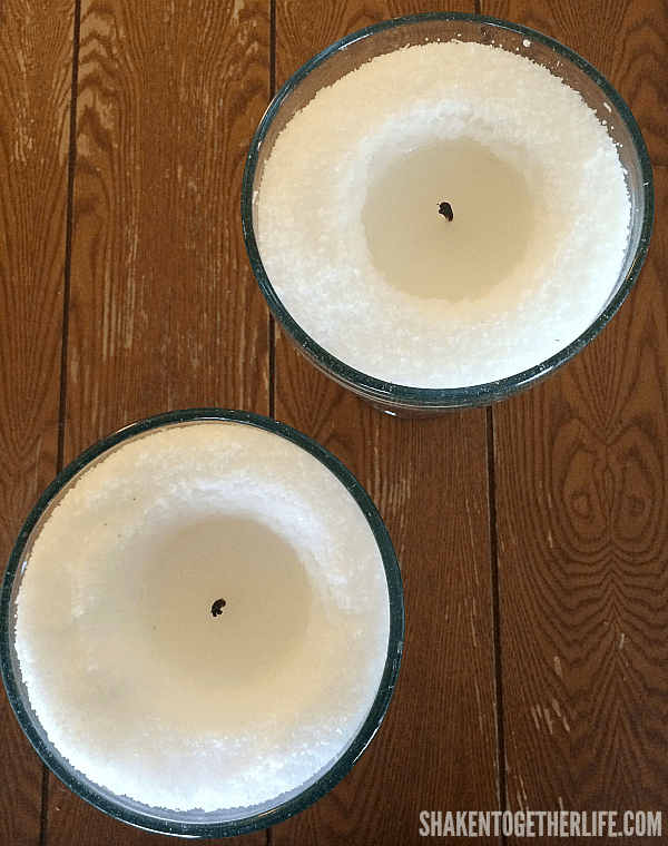 Easy DIY Margarita Scented Candles - follow basic safety tips while burning!