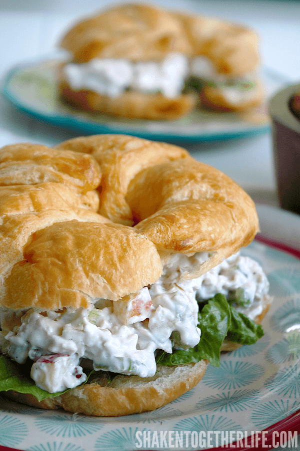 Grandma's Secret Ingredient Chicken Salad Recipe - the secret is in that cool, creamy dressing. And you are going to LOVE it!