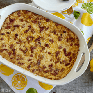 Lemon Lime Dump Cake